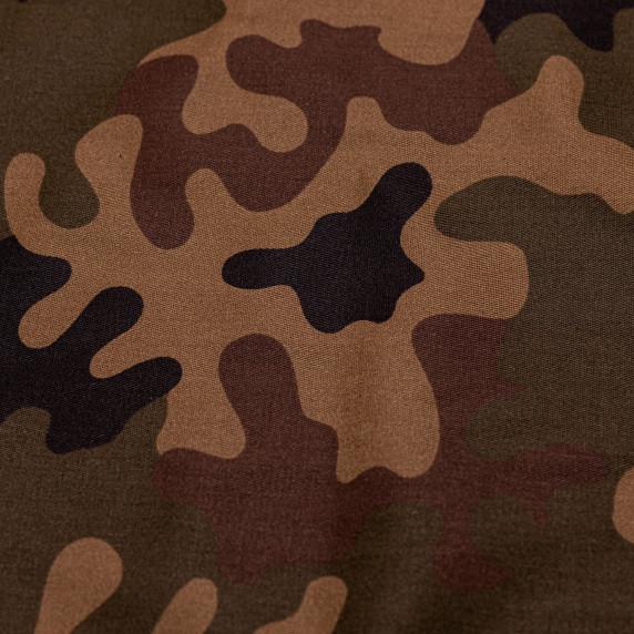 Drevené skladacie lehátko AGA - maskáčové hnedé