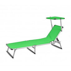 AGA záhradné lehátko so strieškou GARDEN KING Lime Green MC372310LG Preview
