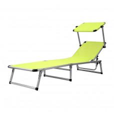 AGA záhradné lehátko so strieškou GARDEN KING Yellow Green MC372310GG Preview
