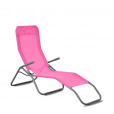 Aga Zahradné lehátko SIESTA MC372171PI - Pink Preview