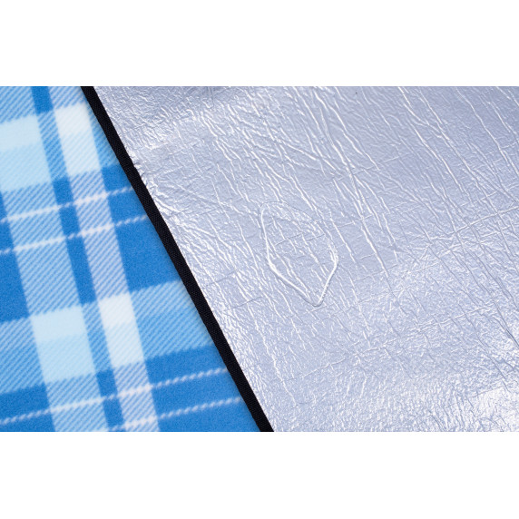 Tresko Pikniková deka PNDKE41 svetlo modrá