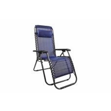 Záhradné kreslo Linder Exclusiv AERO GRT MC3746 - modro/čierne Preview