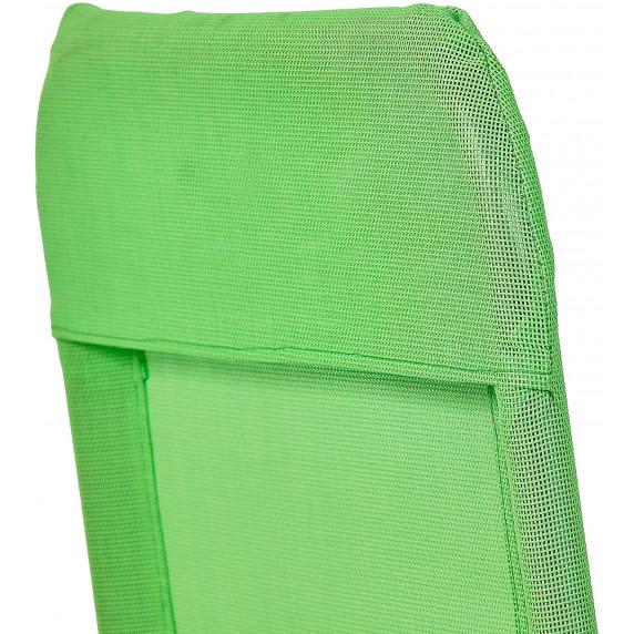 Aga záhradné lehátko SIESTA MC372171LG  Limet Green