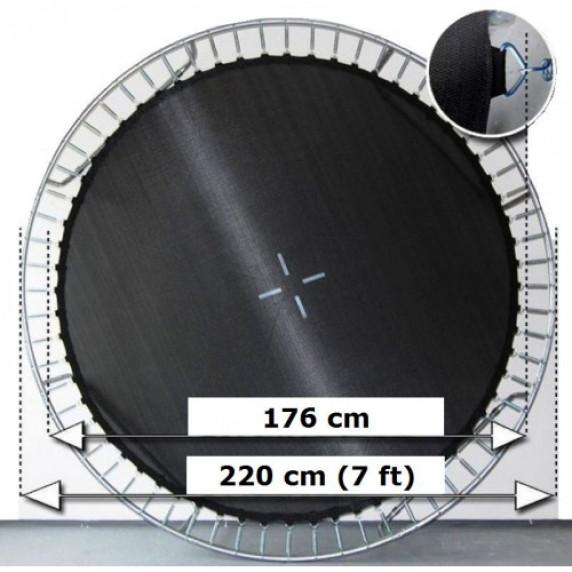 AGA odrazová plocha na trampolínu s celkovým priemerom 220 cm na 42 očiek