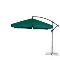 AGA záhradný konzolový slnečník EXCLUSIV GARDEN 300 cm Dark Green