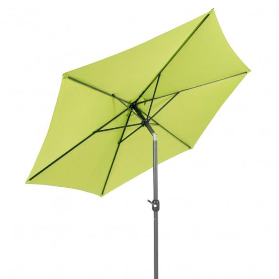 Záhradný slnečník Linder Excclusiv KNICK 300 cm Lime