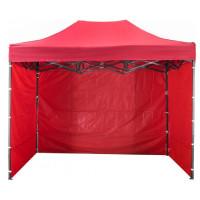 AGA predajný stánok 3S POP UP 3x4,5m Red