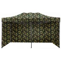AGA predajný stánok 3S POP UP 3x6 m Army