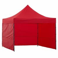 AGA predajný stánok 3S POP UP 3x3 m Red