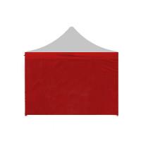 Aga Bočnica k altánku POP UP 3x3 m - červená