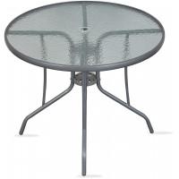 Záhradný stôl Linder Exclusiv MR4354LGY 75 x 90 cm