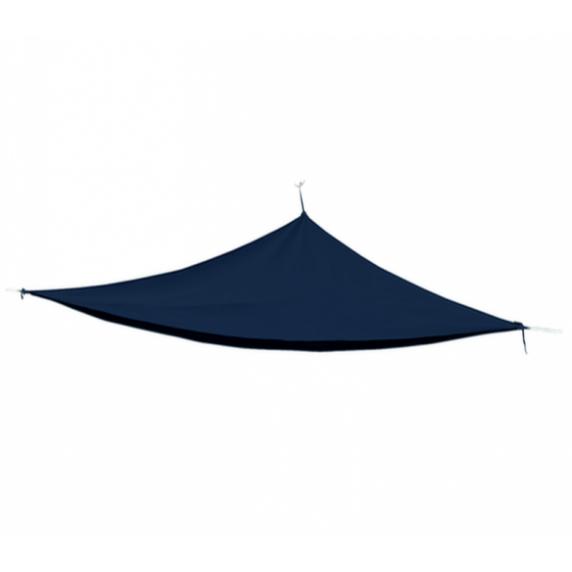 Trojuholníková záhradná tieniaca plachta  Linder Exclusiv  MC2017A 3 x 3 x 3 m - Antracit