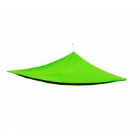Trojuholníková záhradná tieniaca plachta Linder Exclusiv MC2021 5 x 5 x 5 - Svetlozelená