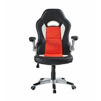 Kancelárske kreslo AGA Racing MR2050W/Red - čierno-červené