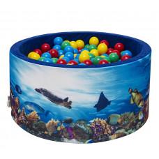 Aga Suchý bazén 90x40 cm s loptičkami 232 Preview