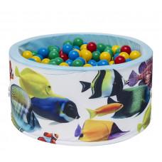 Aga Suchý bazén 90x40 cm s loptičkami 249 Preview