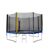 Trampolína XXL 460 cm Linder Exclusiv + ochranná sieť + rebrík + krycia plachta - modrá