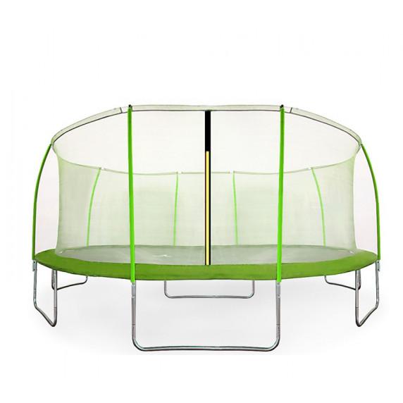 Aga SPORT FIT Trampolína 430 cm Light Green s vnútornou ochrannou sieťou