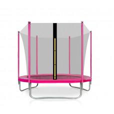 AGA SPORT FIT trampolína 180 cm s vnútornou ochrannou sieťou ružová Preview