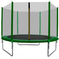 AGA SPORT TOP trampolína 180 cm s vonkajšou ochrannou sieťou tmavo zelená Preview