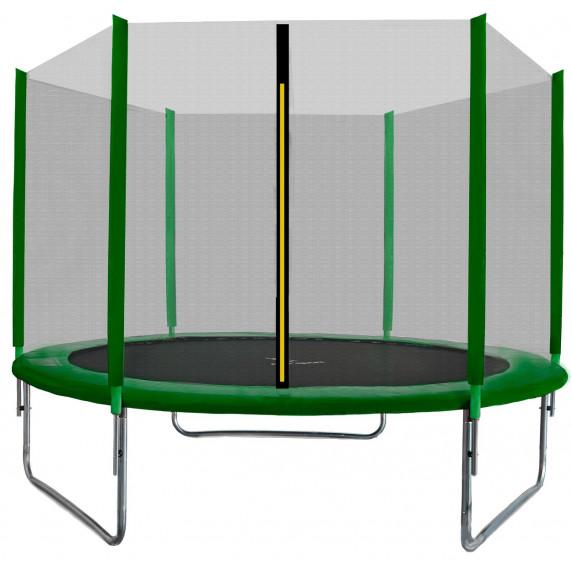 AGA SPORT TOP trampolína 180 cm s vonkajšou ochrannou sieťou tmavo zelená
