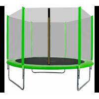 AGA SPORT TOP trampolína 180 cm s vonkajšou ochrannou sieťou svetlozelená