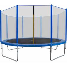 AGA SPORT TOP trampolína 430 cm s vonkajšou ochrannou sieťou modrá Preview