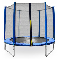AGA SPORT TOP trampolína 305 cm s vonkajšou ochrannou sieťou modrá