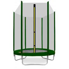 AGA SPORT TOP trampolína 150 cm s vonkajšou ochrannou sieťou tmavozelená Preview