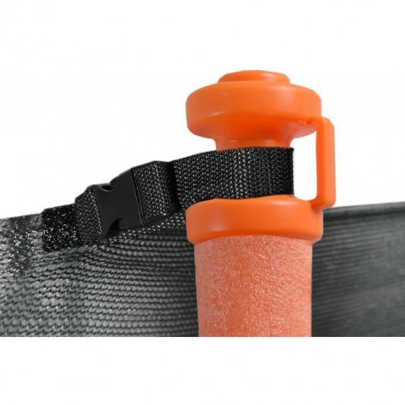 AGA klobúčik UNIVERSAL na trampolíny s vnútornou ochrannou sieťou - oranžová