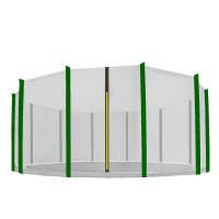 AGA ochranná sieť na trampolínu s celkovým priemerom 460 cm na 12 tyčí