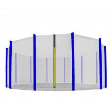 AGA ochranná sieť na trampolínu s celkovým priemerom 500 cm na 12 tyčí Preview