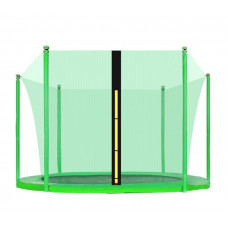 AGA vnútorná ochranná sieť na trampolínu s celkovým priemerom 305 cm na 6 tyčí - svetlozelená Preview
