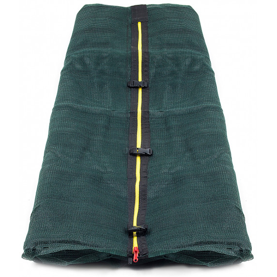AGA vnútorná ochranná sieť na trampolínu s celkovým priemerom 250 cm na 6 tyčí - tmavozelená