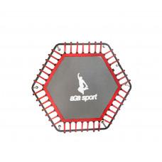 Odrazová plocha na fitness trampolínu s celkovým priemerom 130 cm Aga - červená Preview