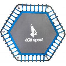 Odrazová plocha na fitness trampolínu s celkovým priemerom 130 cm Aga - modrá Preview