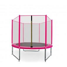 Aga SPORT PRO Trampolína 180 cm Pink s vonkajšou ochrannou sieťou Preview