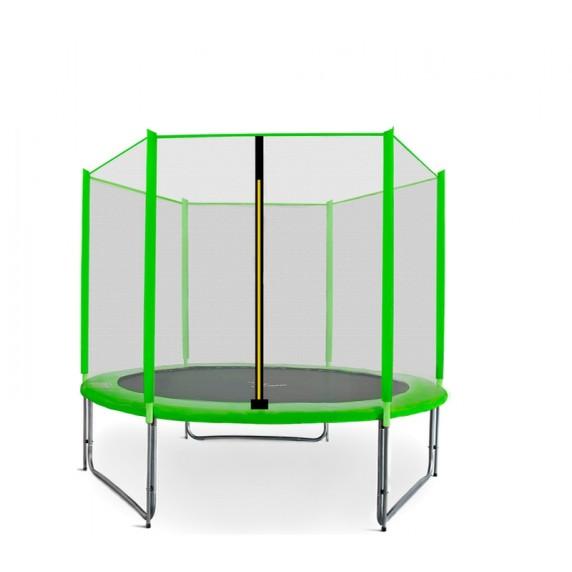 Aga SPORT PRO Trampolína 180 cm Light Green s vonkajšou ochrannou sieťou