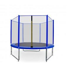 AGA SPORT PRO trampolína 250 cm s vonkajšou ochrannou sieťou modrá Preview