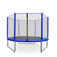 Aga SPORT PRO Trampolína 305 cm Blue s vonkajšou ochrannou sieťou