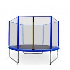 AGA SPORT PRO trampolína 305 cm s vonkajšou ochrannou sieťou modrá Preview