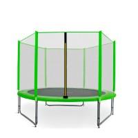 Aga SPORT PRO Trampolína 305 cm Light Green s vonkajšou ochrannou sieťou