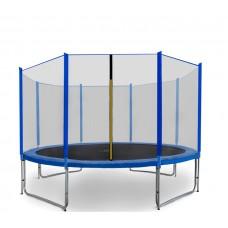 AGA SPORT PRO trampolína 366 cm s vonkajšou ochrannou sieťou modrá Preview