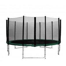 Aga SPORT PRO Trampolína 500 cm Green s vonkajšou ochrannou sieťou + rebrík + vrecko na obuv Preview