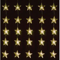 Linder Exclusiv Vianočný svetelný záves Hviezdy 80 LED LK010W - Teplá biela Preview