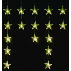 Linder Exclusiv Vianočný svetelný záves Hviezdy 40 LED LK011W - Teplá biela Preview