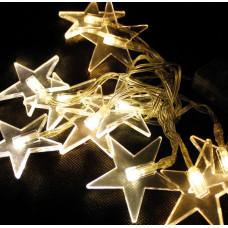Linder Exclusiv Vianočná svetelná reťaz Hviezdy 48 LED LK012W - Teplá biela Preview