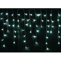 Linder Exclusiv Vianočný svetelný dážď 120 LED LK006I - Studená biela