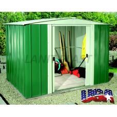 Záhradný domček ARROW  DRESDEN 86 zelený Preview