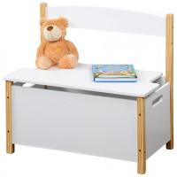 Detská lavica s úložným priestorom SCANDI